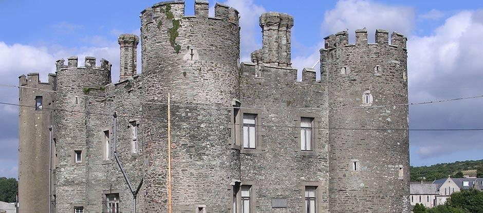 Enniscorthy Castle turrets